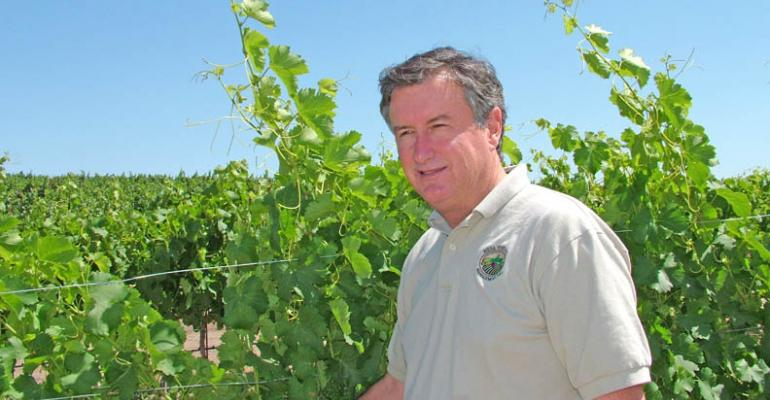 Grape grower Dana Merrillrsquos company of Templeton Calif reports coastal wine grape yields are very low in 2011 ldquoOur yields will be very low this year Even without the frost wersquod be looking at a lighterthannormal crop But throw in the frosted blocks and I wouldnrsquot be surprised if wersquore 40 percent off normal on our yieldsrdquo