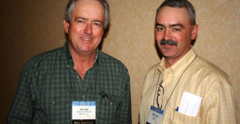 Father and son Arizona pistachio growers Jim and Mark Cook