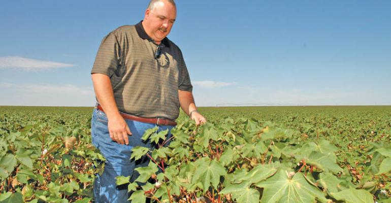 DAWSON COUNTY Texas cotton farmer Shawn Holladay is the High Cotton winner for the Southwest region