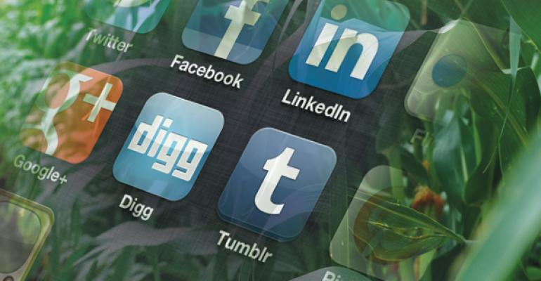 Constantly Connected   Social Media, Mobile Technology Help Boost Farm Productivity