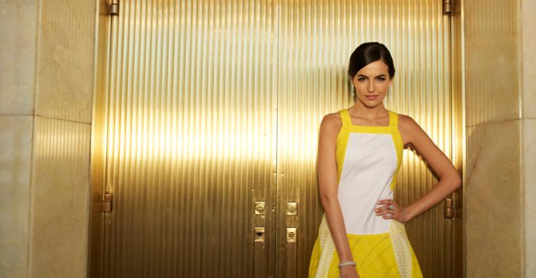 Actress Camilla Belle spotlights her Brazilian roots in her hometown of Los Angeles in a new Fabric of Our Lives commercial
