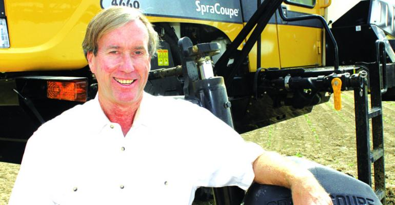 ROBERT ldquoJABYrdquo DENTON grows cotton corn soybeans and grain sorghum in Quitman County Miss He says the business philosophy that guided him when he was a young farmer during the tough environment of the 1980s still serves him well today