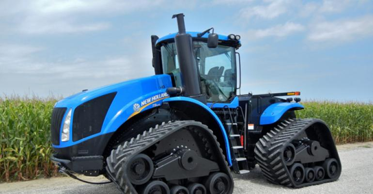 New Holland Introduces New Tractors, Combines, Tracks, Features
