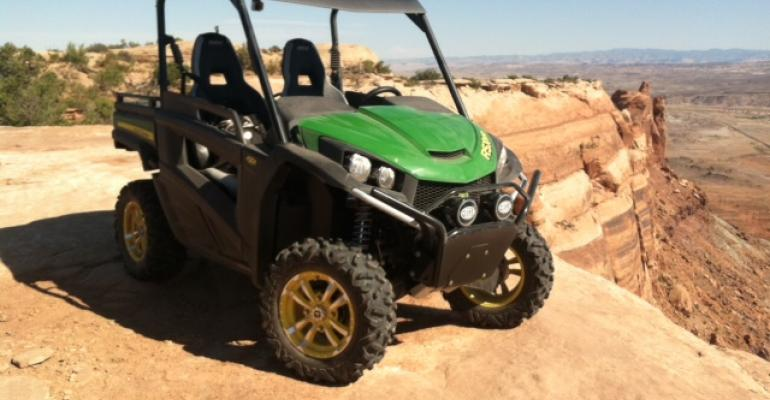 New John Deere Gator transformed into fast, powerful vehicle