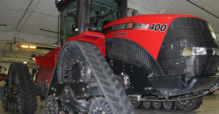 Case IH unveils row-crop tractor on tracks