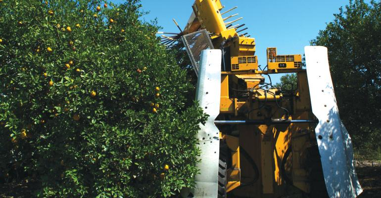 GROWERS USING the mechanical harvester are saving 25 cents to 30 cents per box says Fritz Roka University of Florida agricultural economist Weve documented that it saves money
