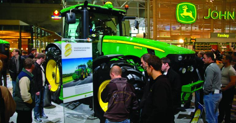 Future of tractor power: diesel-electric hybrids