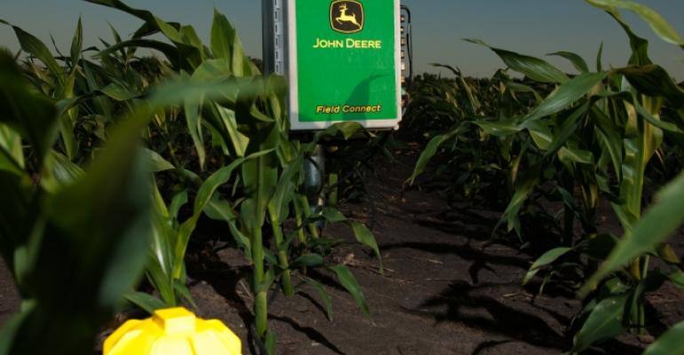 John Deere Field Connect system helps producers monitor soil moisture