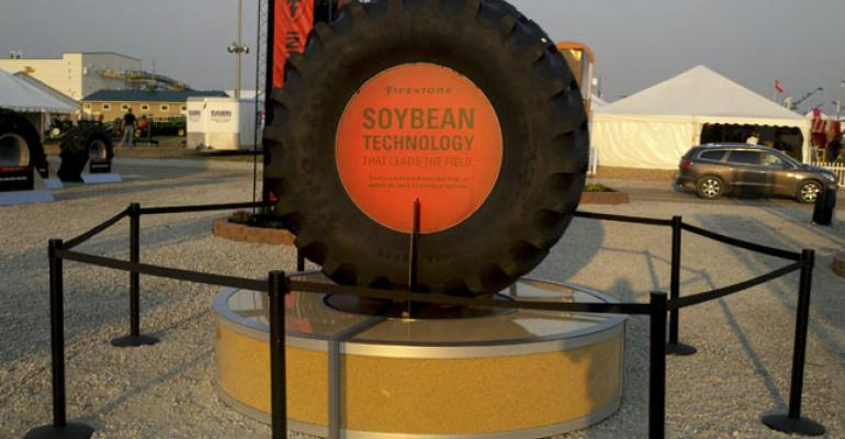 New concept tire from Bridgestone uses soy oil