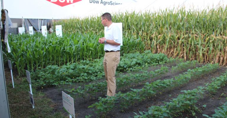 First 3-way gene stack in soybeans announced by Dow AgroSciences, M.S. Technologies