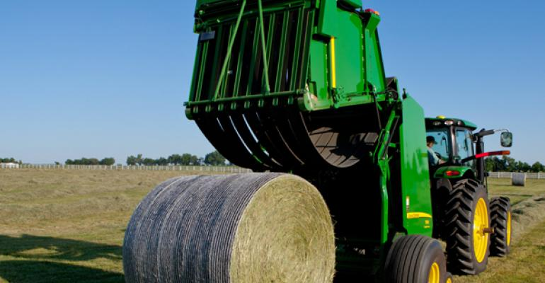 New B-Wrap technology from John Deere helps protect quality of round hay bales