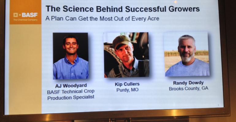 Crop yield champions Kip Cullers and Randy Dowdy share secrets to growing high-yield corn and soybeans