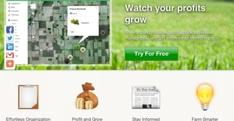 FarmLogs adds rainfall monitoring, new smartphone apps