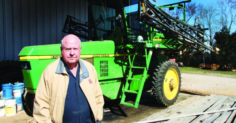 AT AGE 81 Don Waller is looking forward to another year of growing cotton on his farm in north Mississippi