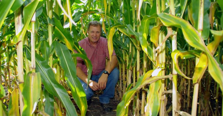 Carter Charles Cyrus Minn manages corn rootworms and weeds without using genetically modified seeds