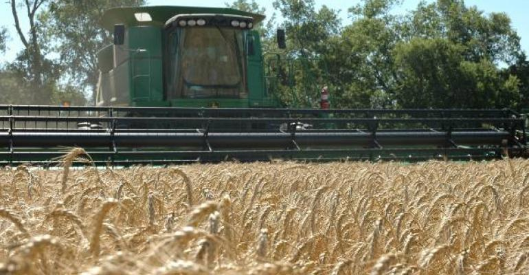 Wheat harvest is underway with some areas in Texas looking at below average yields