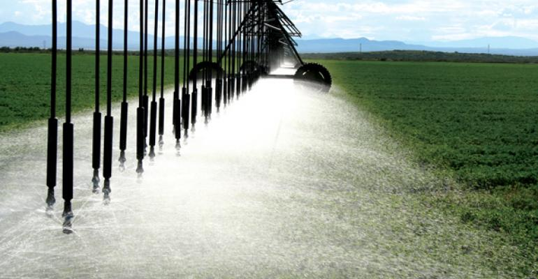 Center pivots contain crop costs