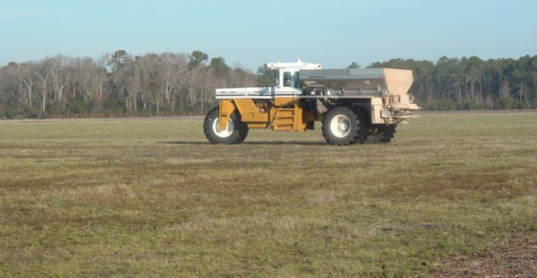 Are you thinking about 2014 fertilizer?