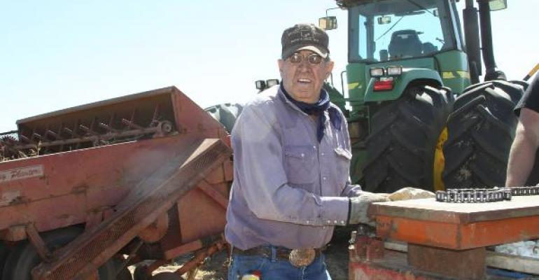 FARMER AND RANCHER Dean Myers has used a lifetime of experience and NRCS assistance to improve his land in Baylor County Texas