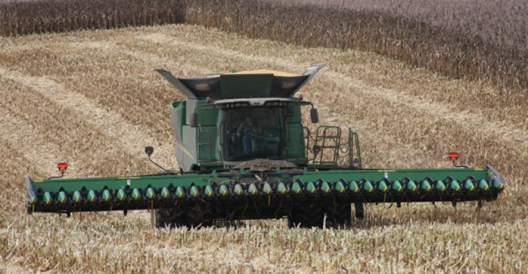 40-foot corn head tackles 15-inch rows for faster corn harvest