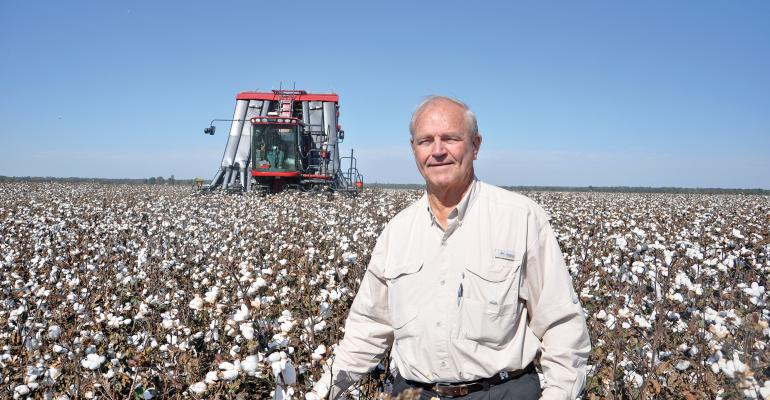 KENNETH HOOD High Cotton Award winner for the Delta states has worked tirelessly to improve profitability for cotton producers across the Cotton Belt