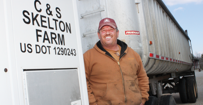 WHEN HIS FATHER was suddenly incapacitated by an accident Steve Skelton was faced with the responsibility of assuming operation of the family farm