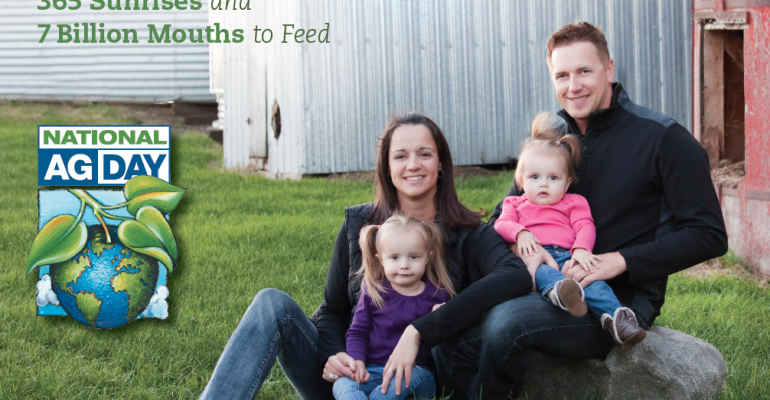 Agriculture facts for National Ag Week 2014