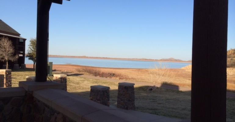 LAKE LUGERT in Southwest Oklahoma contains only a small fraction of its usual water supply a situation thatrsquos common across much of the Southwest