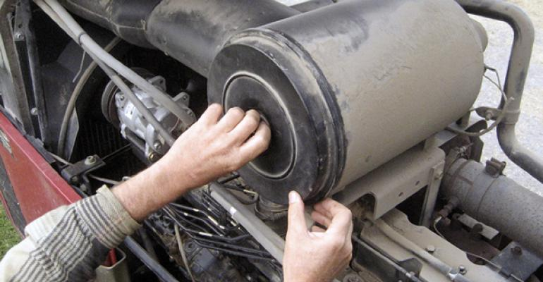 Replacing air and fuel filters can increase tractor power output by an average of 35  and reduce fuel costs by 3 to 4