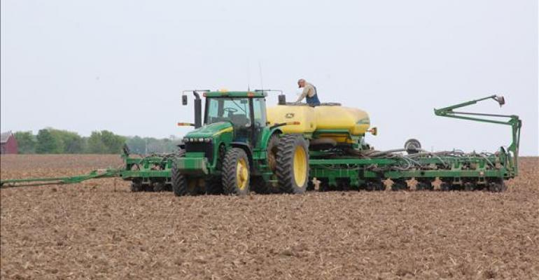 How long will corn prices get a lift from slow planting?