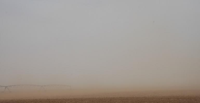 Dust is everpresent in the Texas High Plains whre rainfall has been rare for the past three years