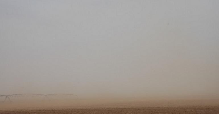 Too common a sight on the TExas  High Plains dust rolling across bare fields