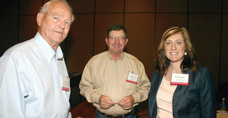 AMONG THOSE ATTENDING the 2014 SCGA summer meeting were from left Kenneth Hood of Gunnison Miss George LaCour of Lettsworth La and Entirarsquos Kaelin Hanks