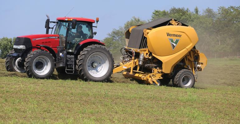 The new concept machine from Vermeer is being tested in fields A launch date has not been announced