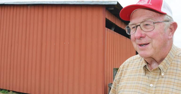 JOHN KELLER was one of the first farmers to try planting notill Hersquos stuck with it ever since