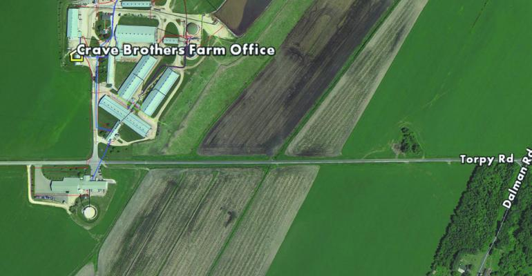 This Crave Brothers Farm map details key parts of the operation that can be mapped When compared with specific layers the map helps with onfarm decisionmaking