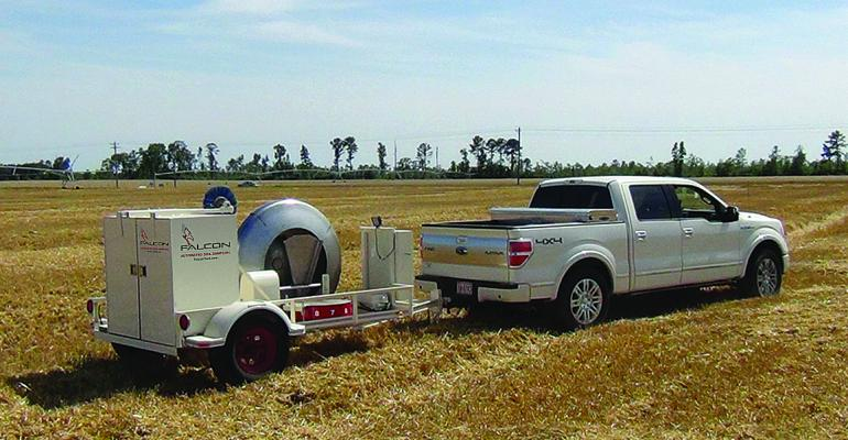 The Falcon precision soil sampling system automates the process and provides highquality samples to help growers improve their fertility decisions
