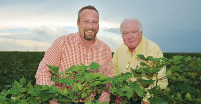 RN AND RONNIE HOPPER are the Southwest Region High Cotton Winners for 2015