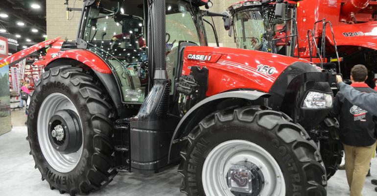 The new Maxxum lineup includes five models on a singlewheelbase frame ranging up to the Maxxum 150 A new CVT and an enhanced cab highlight new features for the tractor line