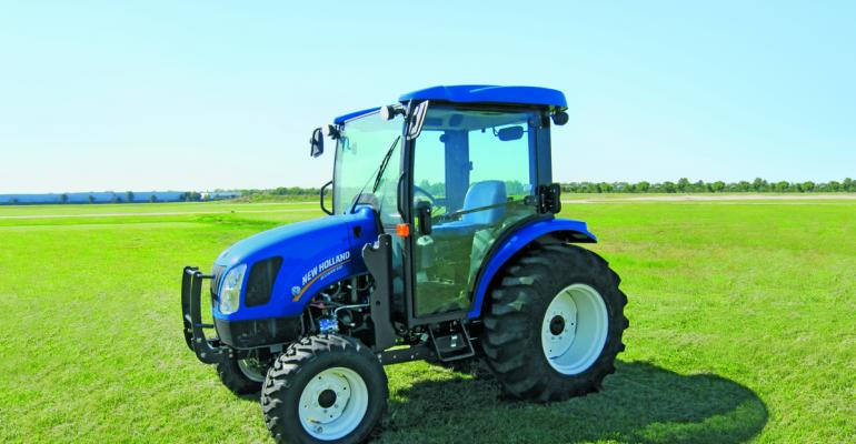 New Holland's Boomer tractors win award at SIMA