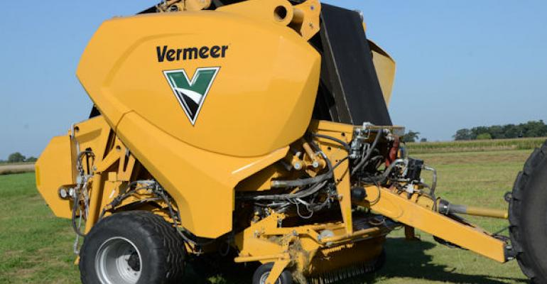 Without stopping this prototype baler from Vermeer keeps on making bales and dropping them in the field In highproduction fields where you39re making a lot of bales the time savings could be as high as 50 Work continues on the baler launch date of the final product has not been determined