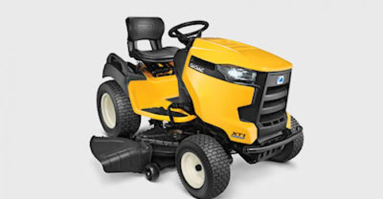Cub Cadet makes first lawn tractor with bluetooth