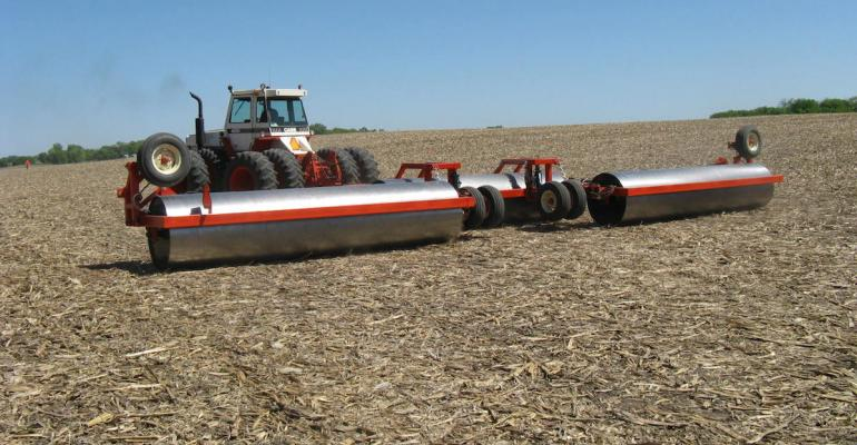 Tips for ground rolling emerged soybeans