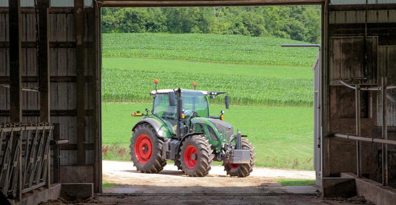 The new Fendt 500 Vario offers machines ranging from 110 to 150 engine hp in a shorterwheelbase design that offers added maneuverability The tractor has a range of high end features