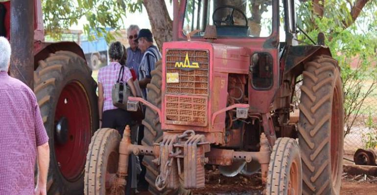 Old equipment is about all that39s available for Cuban agriculture but  two Alabama investors may soon be producing new tractors for sale to private farmers in Cuba