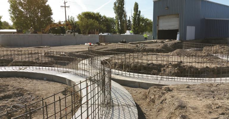 Construction is underway to expand Thresher Artisan Wheat at its Newdale Idaho location  Grain handling facilities across the nation are in need of upgrades