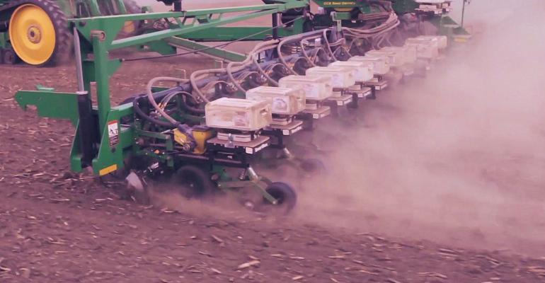 Precision Planting tools like those shown here will be sold by Ag Leader if John Deere can close its purchase deal with Monsanto
