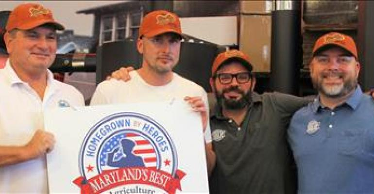 Dairyman honored as Maryland's first 'Homegrown By Heroes' participant