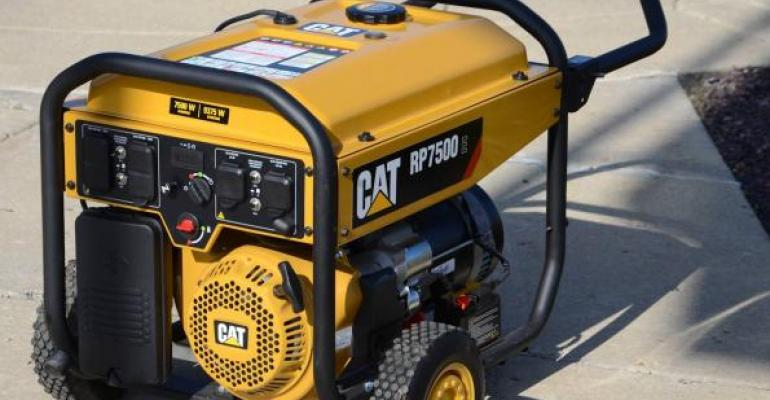 The first products from the new Caterpillar Home and Outdoor Power division is the RP series of generators There are four models in the line from 5500 watts to 7500 watts of running power