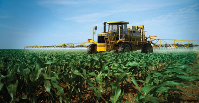 High-capacity, self-propelled sprayers
